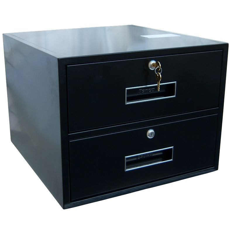 Add-on of Two Drawers for 18in Pedestals & Rolling Banks
