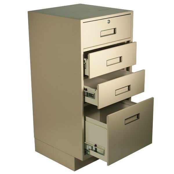 Silverline Ped w/3 Box Drawers (Lock on Top Drawer Only)