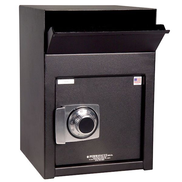 Dual Compartment Front-Loading Depository w/Group II Combination Lock