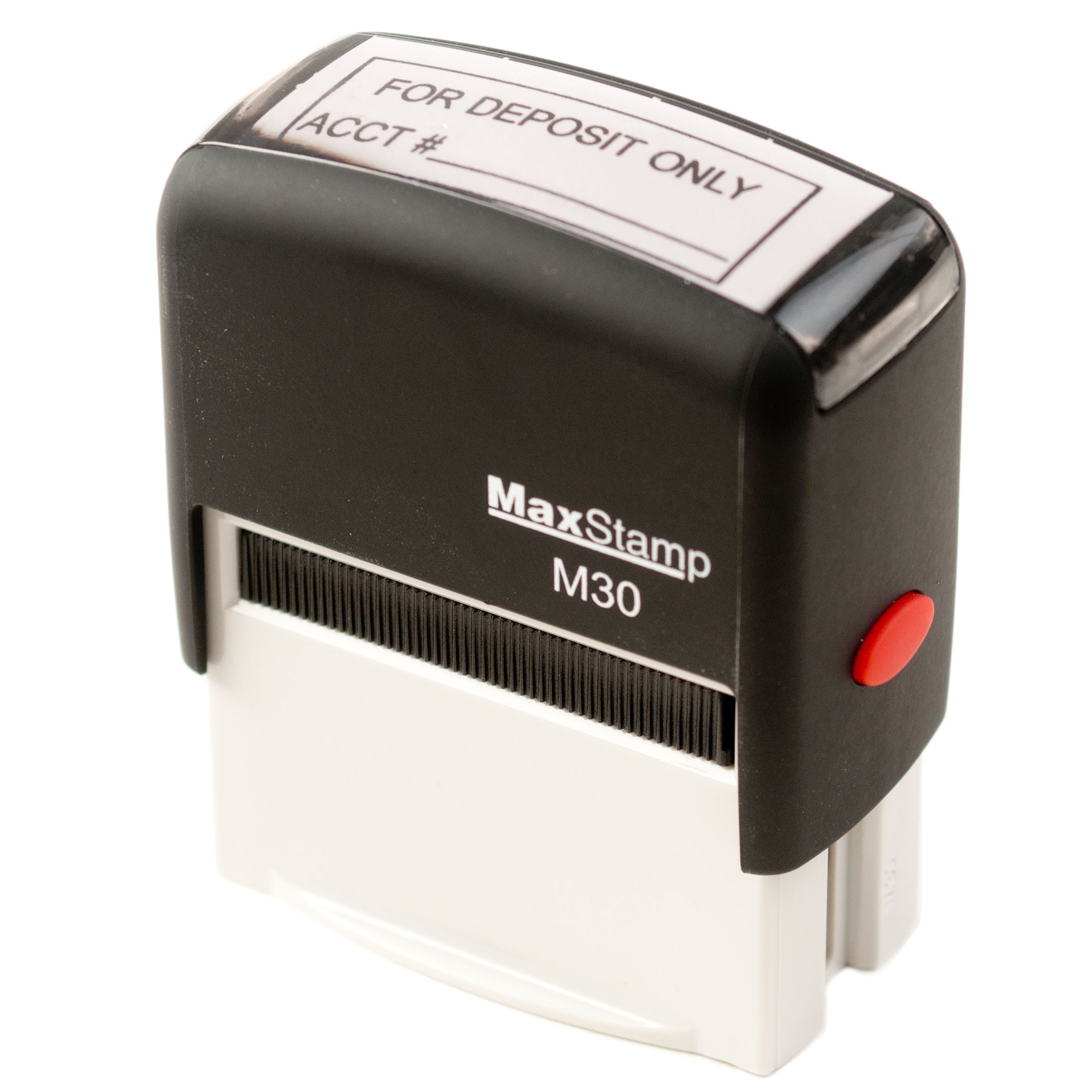 Self-Inking Stamp, 1 color ink - FOR DEPOSIT ONLY