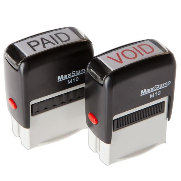 Stock Self-Inking Stamps