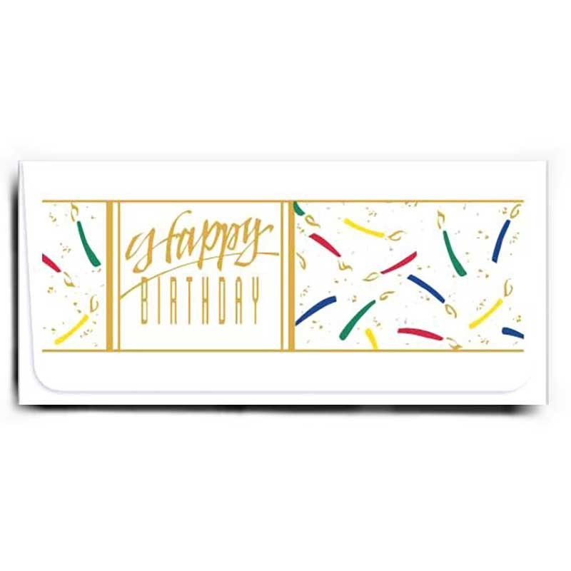 Currency Gift Envelopes - Happy Birthday - Candles