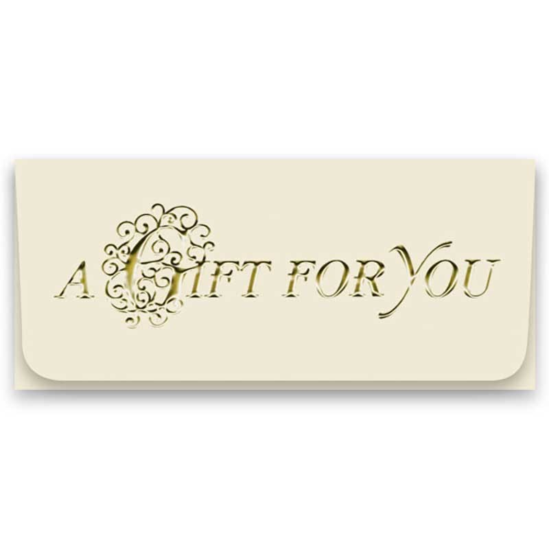 Currency Gift Envelopes - A Gift For You - Filigree