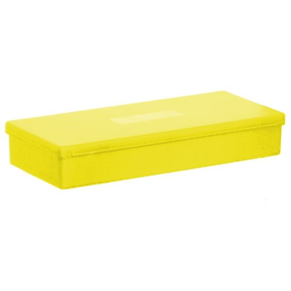 YELLOW - Polypropylene box carrier for belt delivery system