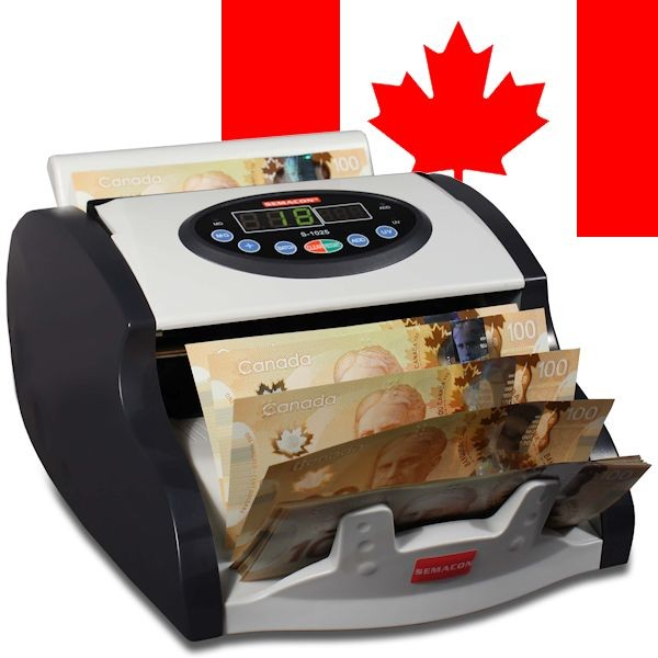 Semacon S-1025 Currency Counter, Canadian Model