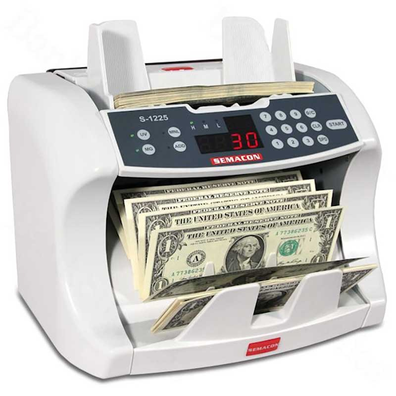 Semacon S-1200 Bank Grade Series Currency Counters