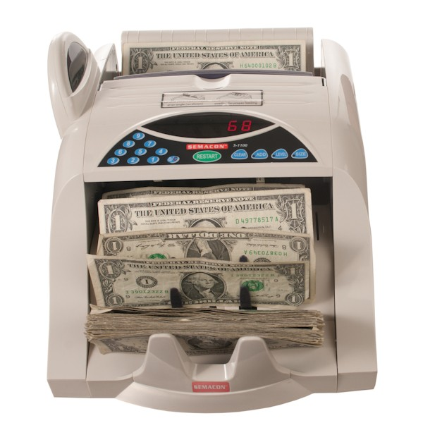 Semacon S-1100 Currency Counter