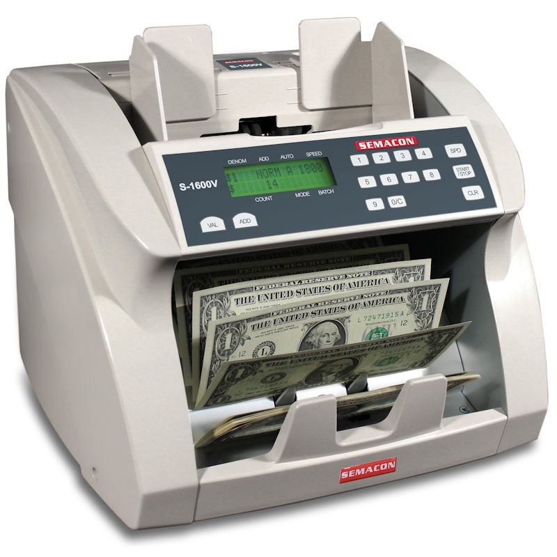 Semacon S-1600V Currency Counter