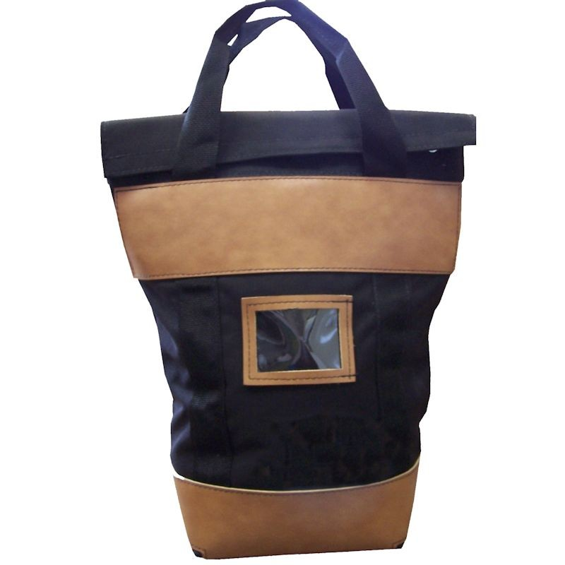 18W x 24H x 8D Fire-Resistant Locking Courier Bags - Made to Order