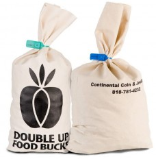 Custom Imprintable Canvas Coin Bags
