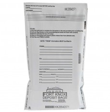 9W x 12H White Value Deposit Bags