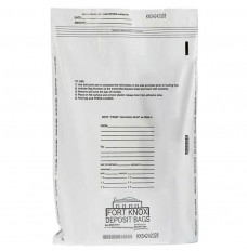 10W x 14H White Value Deposit Bags