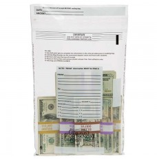 12W x 16H Clear Value Deposit Bags - Case of 1000