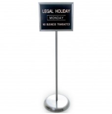 Free-Standing Holiday Sign