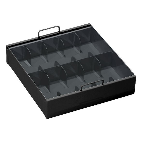 10-Compartment Currency Tray