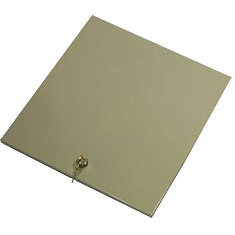 Metal Locking Lid Cover