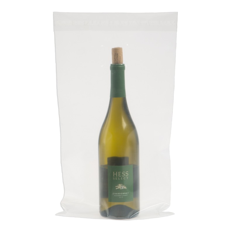 9W x 17H Wine Doggy Bags