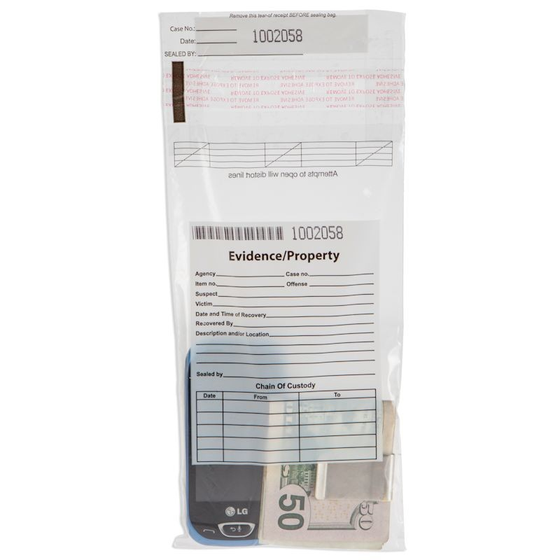 5W x 9H Evidence Bags