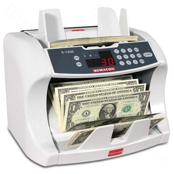 Semacon S-1200 Currency Counter
