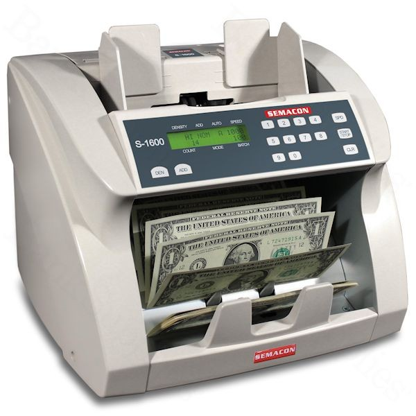 Semacon S-1600 Currency Counter