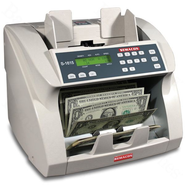 Semacon S-1615 Currency Counter