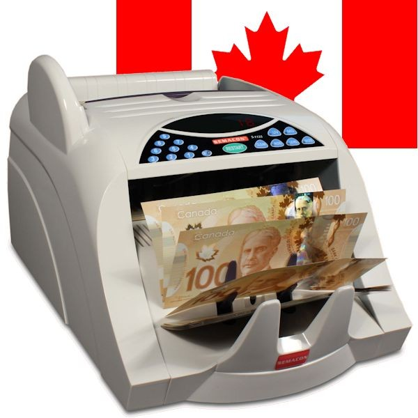 Semacon S-1125 Currency Counter, Canadian Model