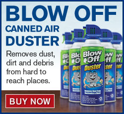 Blow Off Canned Air